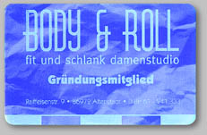 Body & Roll-Fitnesskarte